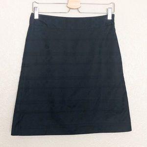 EUC DKNY navy A line cotton skirt
